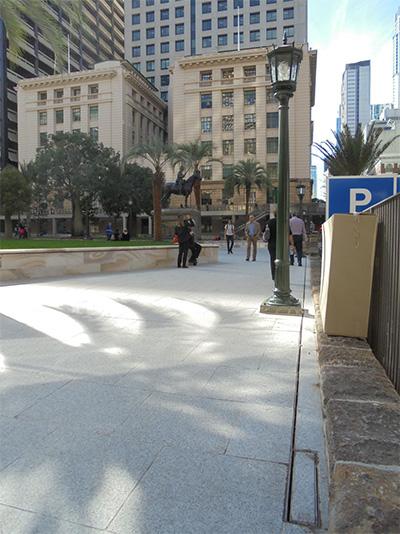 Anzac Square Restoration