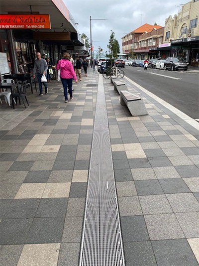 Coogee Bay Road Streetscape Upgrade, Coogee NSW