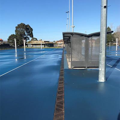 Dales Park Netball Facility, Oakleigh, Victoria