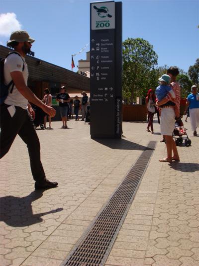 Taronga Zoo Entrance